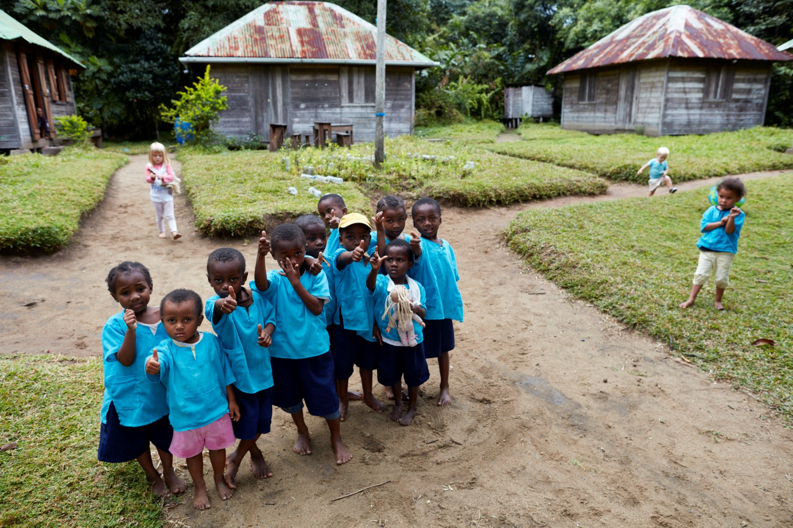 Play School in a village in Masoala National Parc, Madagascar, September and October 2017